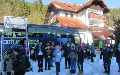 Zimska šola v naravi CŠOD Peca, Mežica 2019
